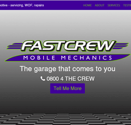 Screen shot of Fast Crew Automotive