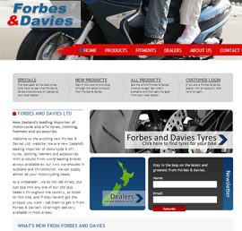 Screen shot of Forbes and Davies