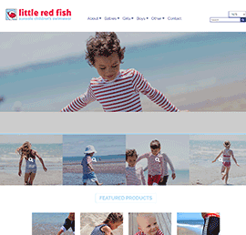 Screen shot of Little Red Fish
