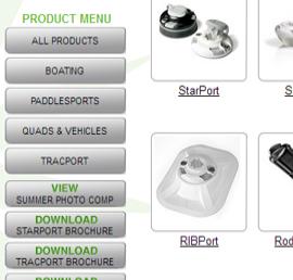 Railblaza web site