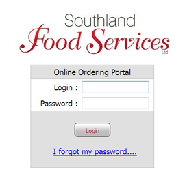 Screen shot of Southland Foods