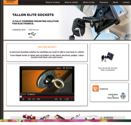 Tallon socket ecommerce store